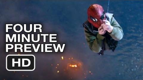 The Amazing Spider-Man Four-Minute Super Preview (2012) Andrew Garfield Movie HD