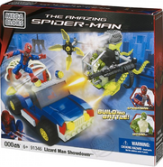 Mega Bloks - Lizard Man Showdown