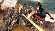 The-Amazing-Spider-Man and Robot