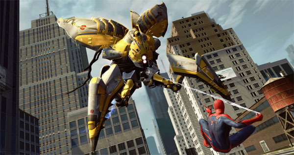 File:The-Amazing-Spider-Man Vs Robot.jpg