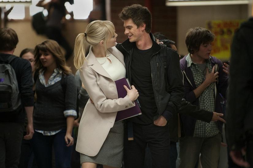 Andrew Garfield Peter Parker Emma Stone Gwen Stacy