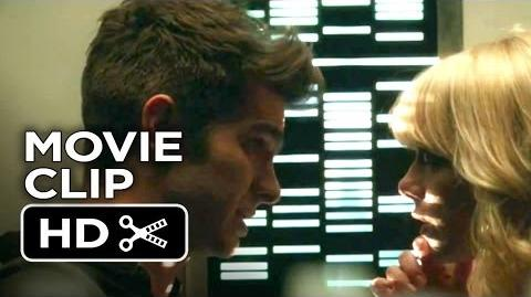 The Amazing Spider-Man 2 Movie CLIP - Peter and Gwen Kiss (2014) - Andrew Garfield Movie HD
