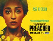 Preacher season 2 poster - Ass Kicker
