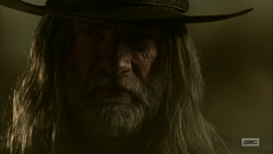 The Saint of Killers arrives in Annville's ruins