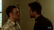 Jesse and Eugene argue over Jesse forcing people to see the light