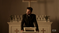 Jesse Custer realizes he can't quit on his congregation