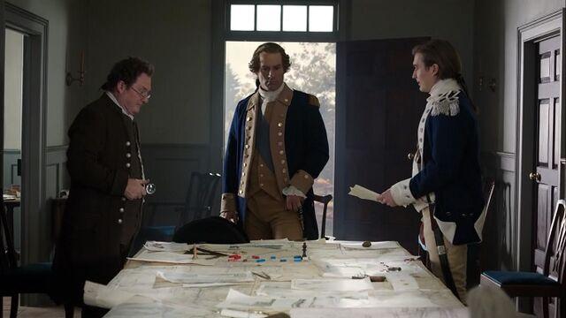 File:George Washington meets with Benjamin Tallmadge and Nathaniel Sackett – Turn - Washington's Spies.jpg