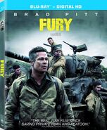 Fury (David Ayer – 2014) Blu-ray front cover