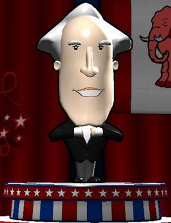 George Washington The Political Machine 2012