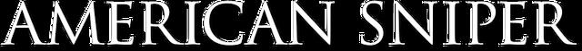 File:American Sniper (Clint Eastwood – 2014) logo.png