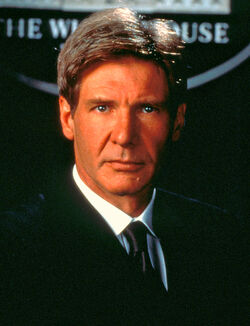 James Marshall played by Harrison Ford