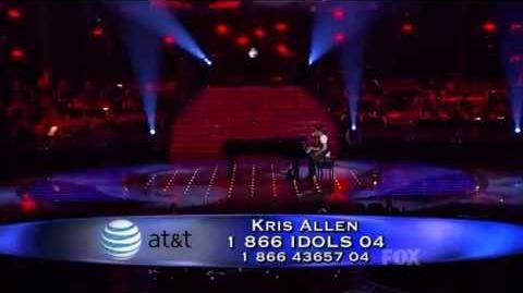 Kris Allen - Ain't No Sunshine (American Idol 8 Top 2) HQ