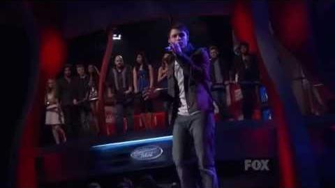 Kris Allen - Man in the Mirror (American Idol 8 Top 36) HQ