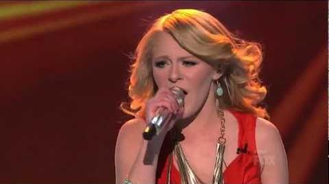 Hollie Cavanagh Faithfully - Top 4 - AMERICAN IDOL SEASON 11