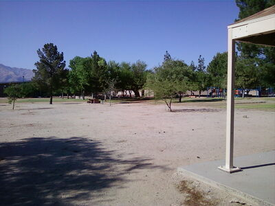 Open terrain at Udall Park