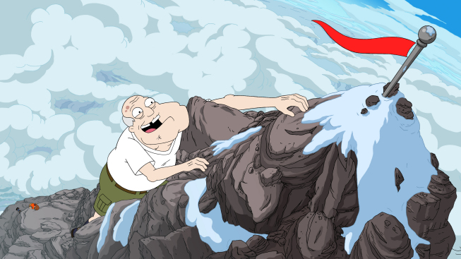 Image result for american dad mountain