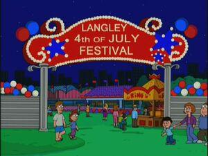 Langley 4th Festival
