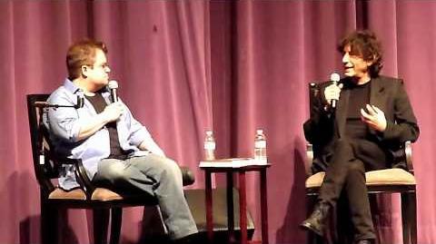 Neil Gaiman & Patton Oswalt @ Saban Theater in L.A. 6 28 11 pt3 of 6