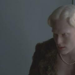 Albino Looks Angry