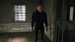 Prison guard's appearance