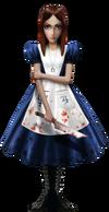 Alice in Wonderland attire