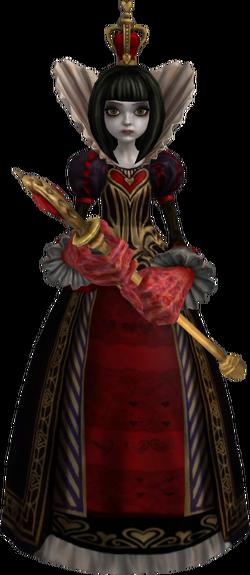 Queen of Hearts AMR render