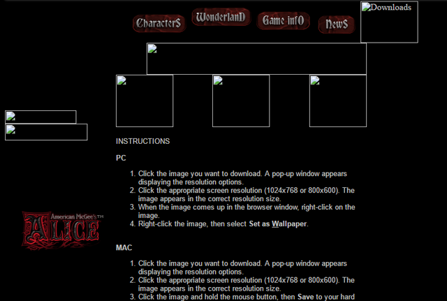 File:Old alice website downloads page.png