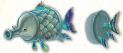 Music Fish appearance