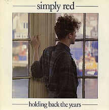 Simply Red Holding Back The Years cover