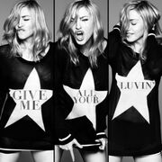 Madonna Give Me All Your Luvin' cover