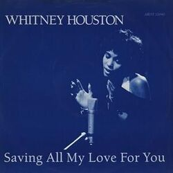 Whitney Houston Saving All My Love For You cover