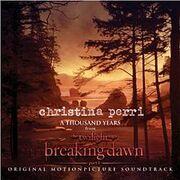 Christina Perri A Thousand Years cover