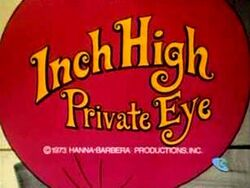 Inch High Private Eye logo