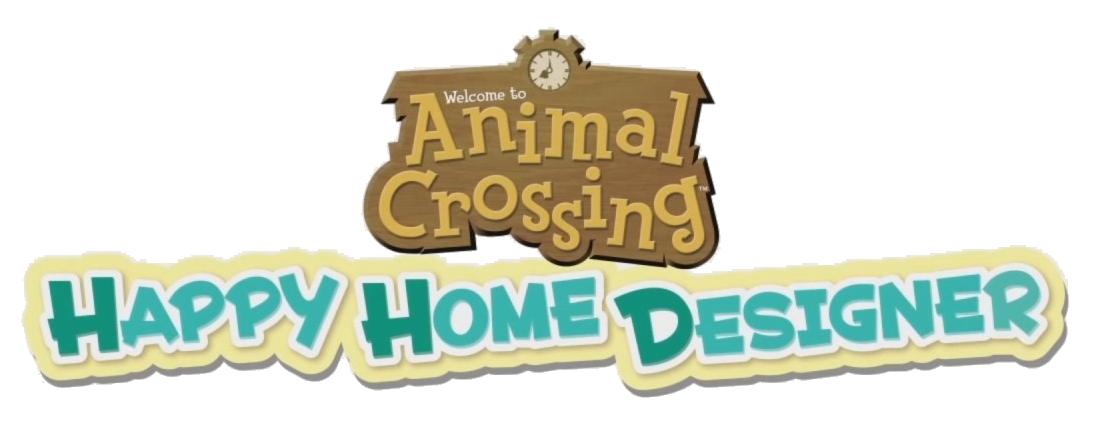 Image - Animal Crossing Happy Home Designer logo.png ...