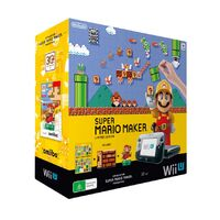 Super Mario Maker Wii U Bundle