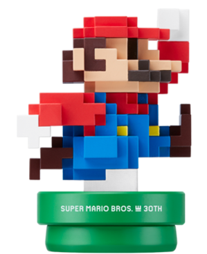Mario 30th anniversary amiibo wiki fandom powered by - Pictures of 8 bit mario ...