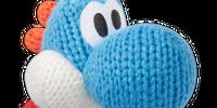 Blue Yarn Yoshi