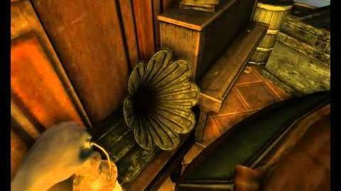 Secret Gramophone Message In Amnesia The Dark Descent - Study Room
