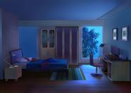 Casa do Nathaniel e Ambre Quarto do Nathaniel Noite