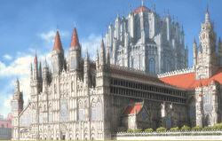 Royal Palace Front View