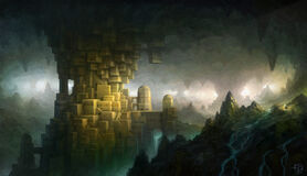 Ancient dwarf city
