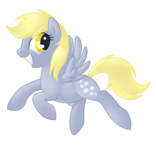 File:55894 - artist tenchisamoshi derpy hooves flying smile.png