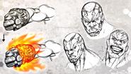 Baron Facial Concept Art