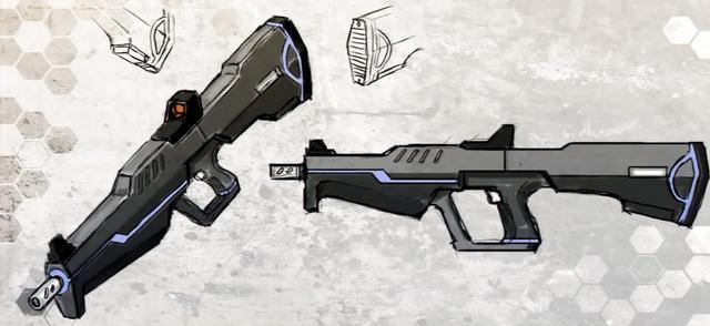 File:Drone Assault Rifle Concept Art.png