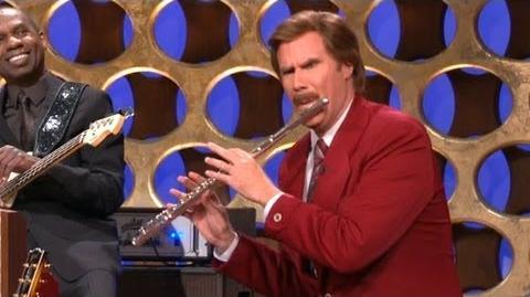 "Ron Burgundy's ""Anchorman"" Announcement - CONAN on TBS"