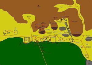 Theban Necropolis Map