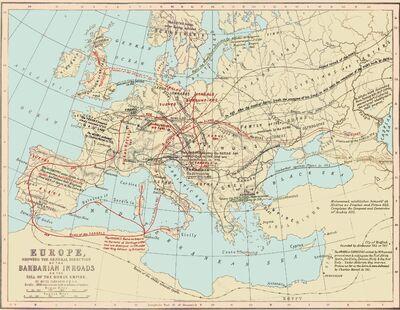 Barbarian Inroads
