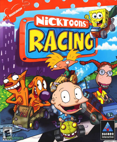 File:Nicktoons Racing front cover.jpg