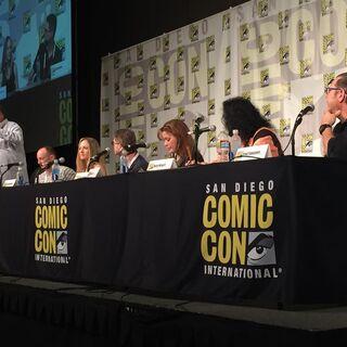 Cartoon Voices 2 panel at 2015 San Diego Comic-Con.