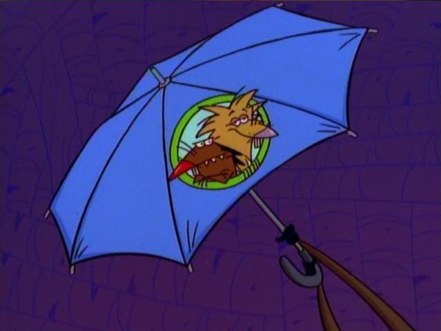 File:Umbrella with The Angry Beavers logo.jpg